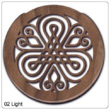 Lute Hole in Mahogany (light) Wood - price reduction